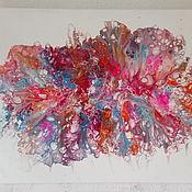 Картины и панно handmade. Livemaster - original item Interior painting with acrylic abstract