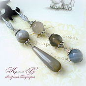 Украшения handmade. Livemaster - original item Asymmetric earrings