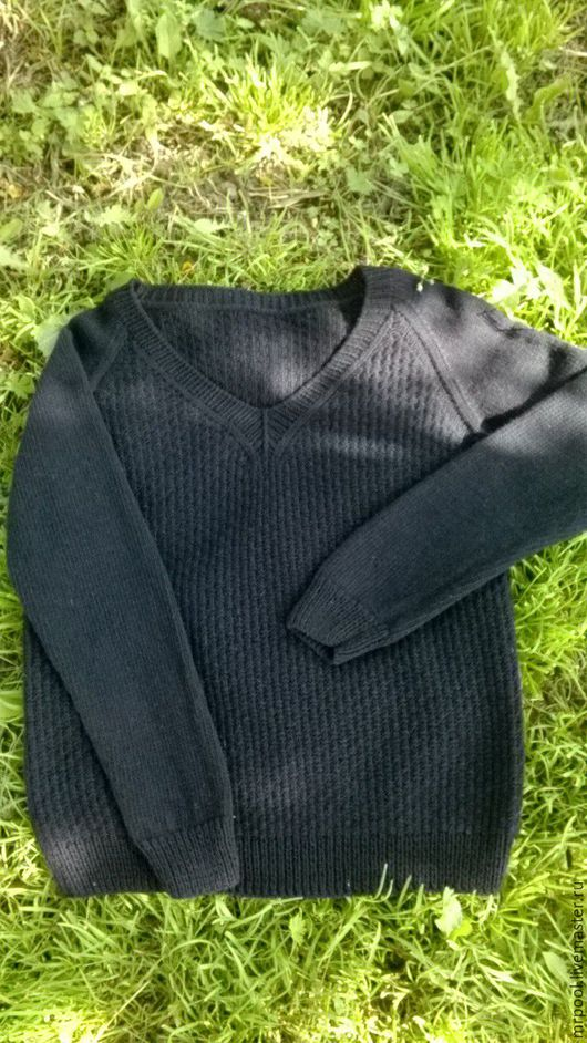 Кофты и свитера ручной работы. Ярмарка Мастеров - ручная работа. Купить Пуловер Cadence. Handmade. Черный, пуловер вязаный