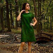 """Одежда ручной работы. Ярмарка Мастеров - ручная работа Платье """"Deep green"""". Handmade."""