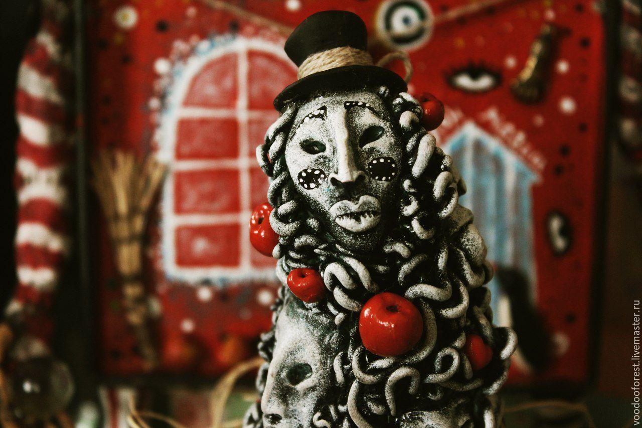 """Кукла-амулет """"Многоликий джин Фибус"""", Куклы - обереги, Тольятти, Фото №1"""