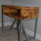 Для дома и интерьера ручной работы. Ярмарка Мастеров - ручная работа Тумба в стиле лофт. Handmade.