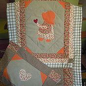 Для дома и интерьера ручной работы. Ярмарка Мастеров - ручная работа Лоскутное одеяло ( одеялко+наволочка). Handmade.