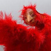 Куклы и игрушки ручной работы. Ярмарка Мастеров - ручная работа Феникс. За минуту до превращения.... Handmade.