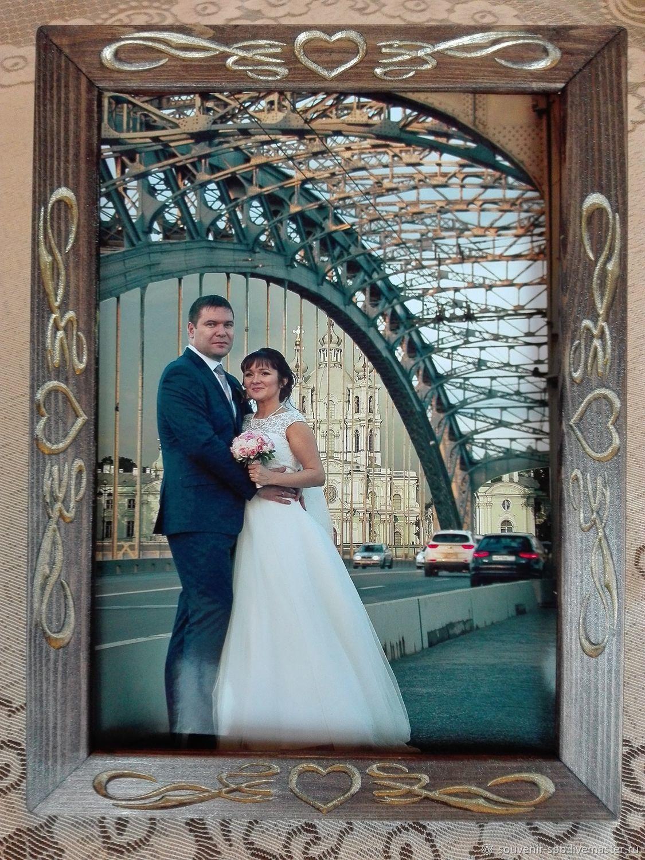 frame for wedding photo, Sketchbooks, St. Petersburg,  Фото №1