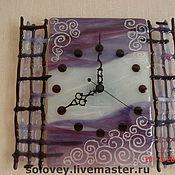 """Для дома и интерьера ручной работы. Ярмарка Мастеров - ручная работа Часы """" Ажур"""". Handmade."""