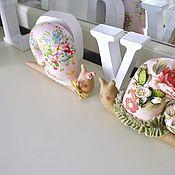 Куклы и игрушки ручной работы. Ярмарка Мастеров - ручная работа Улитки  (улиточка Тильда). Handmade.