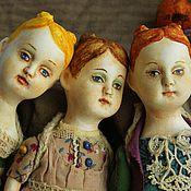 """Куклы и игрушки ручной работы. Ярмарка Мастеров - ручная работа Подвижные куколки """"Три улитки?"""". Handmade."""
