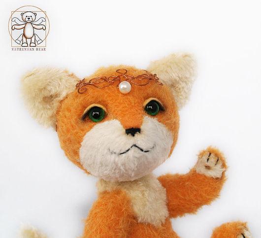 Мишки Тедди ручной работы. Ярмарка Мастеров - ручная работа. Купить Лисичка Алиса - единственный экземпляр. Друзья мишек Тедди. Handmade.