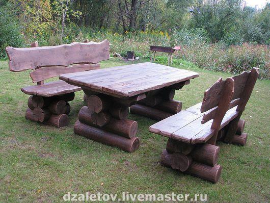 Экстерьер и дача ручной работы. Ярмарка Мастеров - ручная работа. Купить Мебель для загородного дома. Handmade. Мебель для дачи, сад