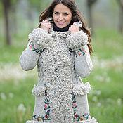 Одежда ручной работы. Ярмарка Мастеров - ручная работа Пальто вязаное 16wj07. Handmade.