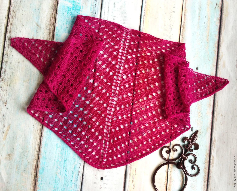 Модный треугольный шарф