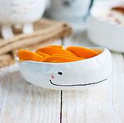 Посуда ручной работы. Ярмарка Мастеров - ручная работа Милый кит. Handmade.