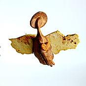 Сувениры и подарки handmade. Livemaster - original item Valentines: Angel of the heart.Figure of wood.Author`s work.. Handmade.