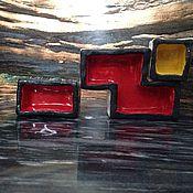 """Для дома и интерьера ручной работы. Ярмарка Мастеров - ручная работа Интерьерная элемент """"Тетрис"""". Handmade."""
