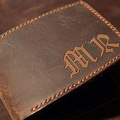 Сумки и аксессуары handmade. Livemaster - original item Men`s wallet (bifold wallet). Handmade.