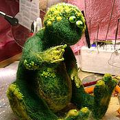 Куклы и игрушки ручной работы. Ярмарка Мастеров - ручная работа Лягух. Handmade.