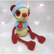 Куклы и игрушки ручной работы. Ярмарка Мастеров - ручная работа Вишневая панда. Handmade.