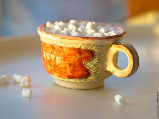 """Кружки и чашки ручной работы. Ярмарка Мастеров - ручная работа. Купить Чашка """"Heart"""". Handmade. Керамика ручной работы, чай"""