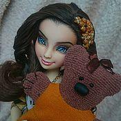 Куклы и игрушки ручной работы. Ярмарка Мастеров - ручная работа OOAK Teddy-Lonnie Descendants. Handmade.