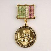Украшения ручной работы. Ярмарка Мастеров - ручная работа Медали и знаки из серебра и золота. Handmade.