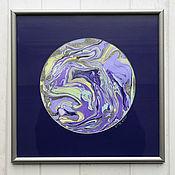 Картины и панно ручной работы. Ярмарка Мастеров - ручная работа живопись на воде 2. Handmade.