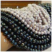 Материалы для творчества handmade. Livemaster - original item Natural galtovka pearls in 2 colors. thread. Handmade.