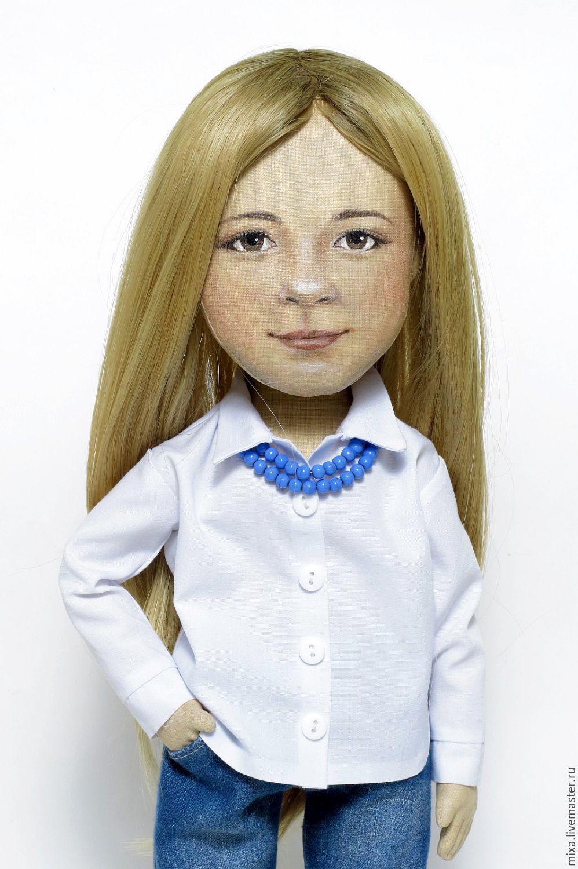 Кукла с портретным сходством мастер класс