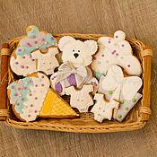 """Сувениры и подарки ручной работы. Ярмарка Мастеров - ручная работа Пряники имбирные """"Sweet Bear Cookie. Сладкий медвежонок """". Handmade."""