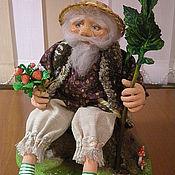 Куклы и игрушки ручной работы. Ярмарка Мастеров - ручная работа Кукла. Хозяин леса. Handmade.