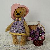 """Куклы и игрушки ручной работы. Ярмарка Мастеров - ручная работа мишка тэдди """"Любаша"""". Handmade."""