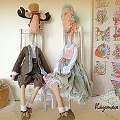Куклы и игрушки ручной работы. Ярмарка Мастеров - ручная работа Романтические Лосики!. Handmade.