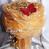 Сувениры и подарки ручной работы. Ярмарка Мастеров - ручная работа Букет из конфет. Handmade.