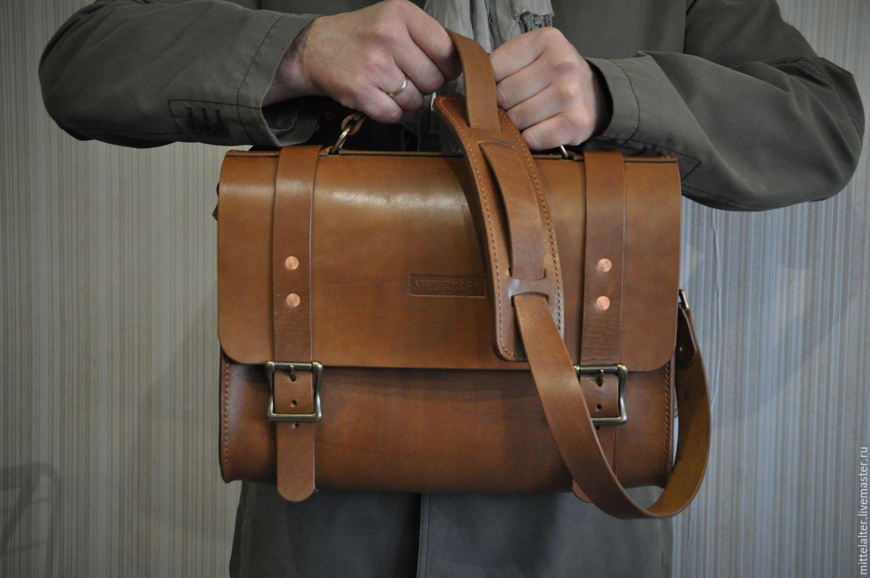 064f61bdd1a6 Мужские сумки ручной работы. Ярмарка Мастеров - ручная работа. Купить  Мужской портфель