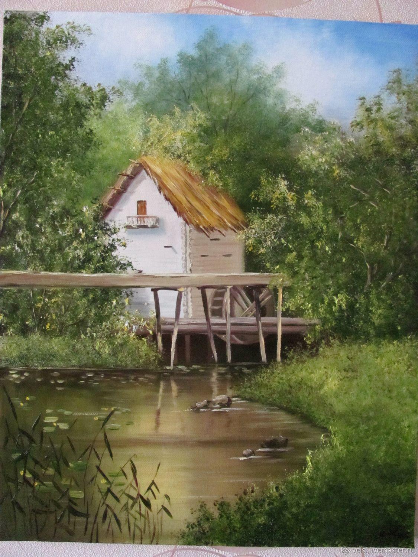 Старая мельница, Картины, Волгодонск,  Фото №1