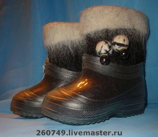 Детская обувь ручной работы. Ярмарка Мастеров - ручная работа. Купить Валенки детские ручной работы. Handmade.