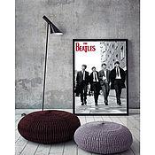 """Дизайн и реклама ручной работы. Ярмарка Мастеров - ручная работа Постер """"Beatles"""". Handmade."""