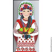 """Картины и панно ручной работы. Ярмарка Мастеров - ручная работа Подвесная доска - матрёшка  """"Украина, которую мы любили..."""". Handmade."""