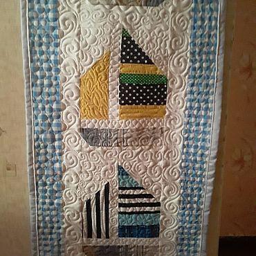 Текстиль ручной работы. Ярмарка Мастеров - ручная работа Пано на стену в детскую комнату. Handmade.