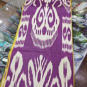 Материалы для творчества handmade. Livemaster - original item Uzbek cotton ikat hand weaving. FM063. Handmade.