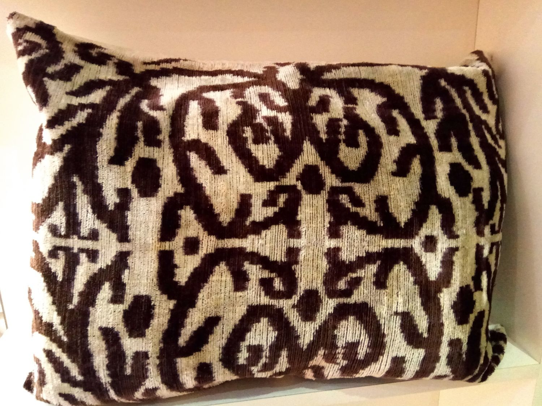 Decorative pillow case made of Uzbek silk, Pillow, Odintsovo,  Фото №1