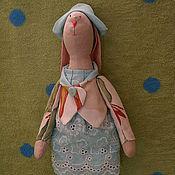 Куклы и игрушки ручной работы. Ярмарка Мастеров - ручная работа Тильда Заяц Рита. Handmade.