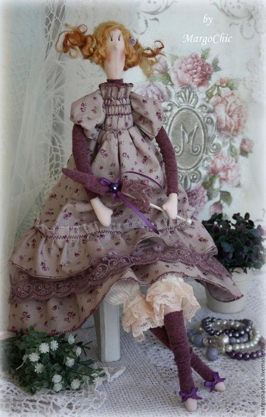 Куклы Тильды ручной работы. Ярмарка Мастеров - ручная работа. Купить Кукла в стиле Тильда.Эльза-лавандовое бохо.. Handmade.