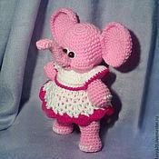 Куклы и игрушки ручной работы. Ярмарка Мастеров - ручная работа Слониха Бони. Handmade.