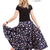 Одежда ручной работы. Ярмарка Мастеров - ручная работа Просто красивая юбка. Ярусная юбка.. Handmade.