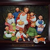 """Картины и панно ручной работы. Ярмарка Мастеров - ручная работа """"Сказки на ночь"""". Handmade."""