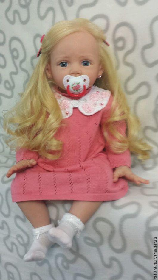 Куклы-младенцы и reborn ручной работы. Ярмарка Мастеров - ручная работа. Купить Каролина. Handmade. Бежевый, реборн купить