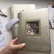Канцелярские товары handmade. Livemaster - original item Notepad women`s. Handmade.