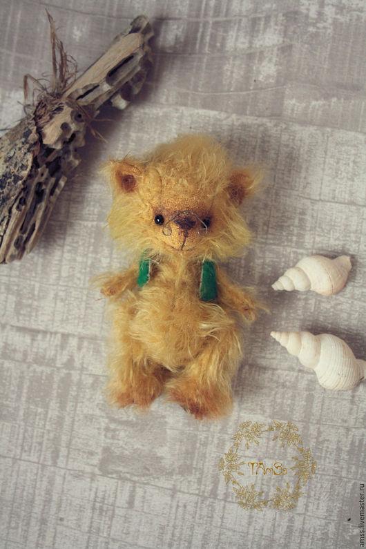 Мишки Тедди ручной работы. Ярмарка Мастеров - ручная работа. Купить Мишка Рокис. Handmade. Желтый, подарок девушке