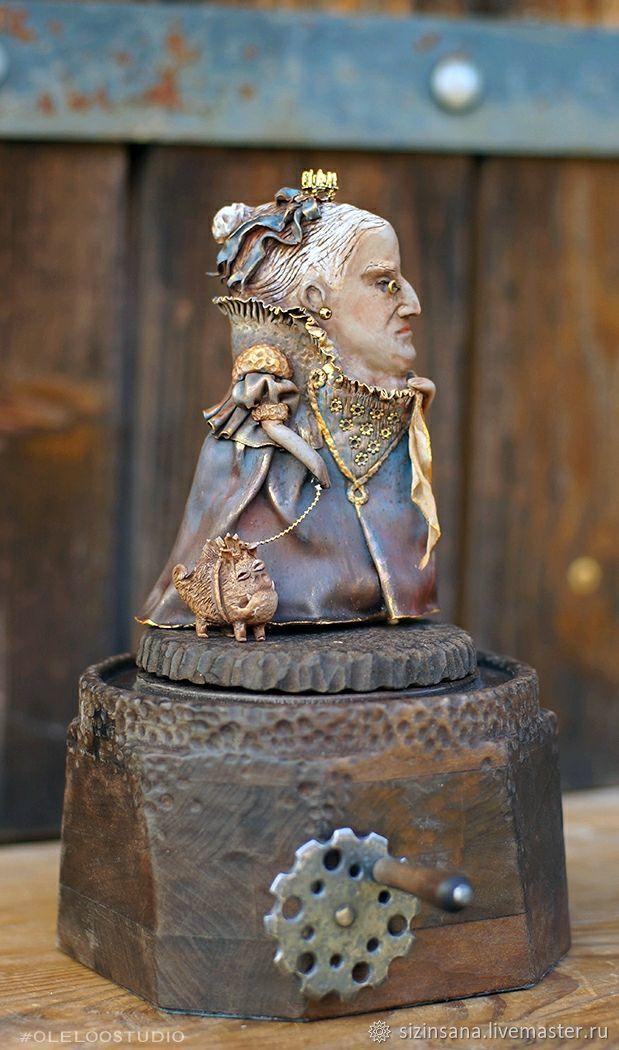 Королева Ви и ее Жуленька. Плоский мир, Портретная кукла, Москва,  Фото №1